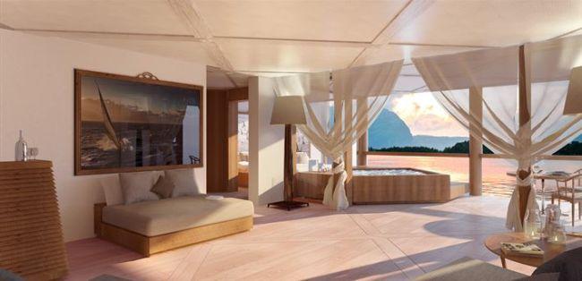 Les suites de luxe sont une caractéristique du design Pastrovich