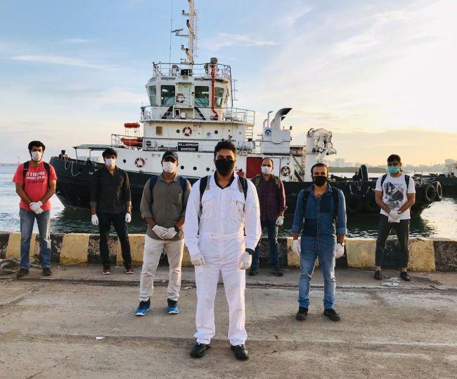 Changement d'équipage indien