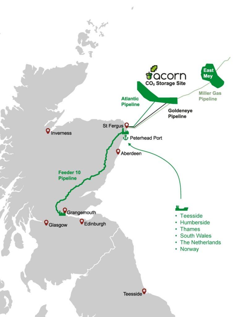 Projet Acorn CCS