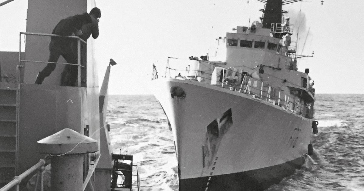 «Guerres du cabillaud» dans les eaux islandaises