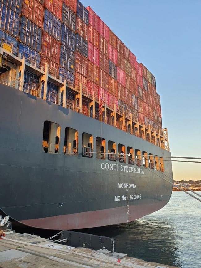 L'Australie annonce des ports obstrués alors que les marins en sous-traitance arrêtent deux nouveaux navires_ conti stockholm