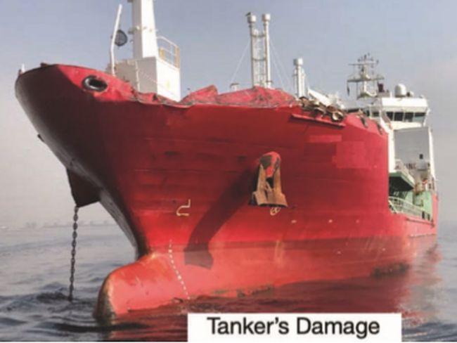 Collision impliquant un navire à la dérive
