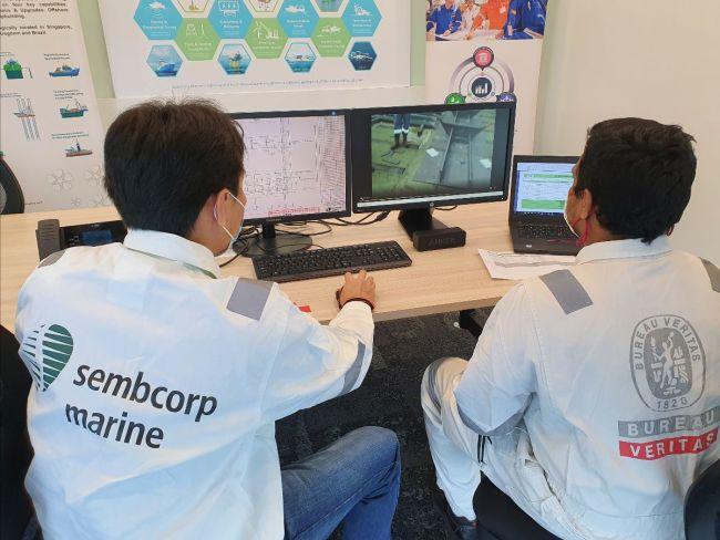 Adopter la numérisation pendant la pandémie COVID-19 _ Essai réussi de sondages à distance à Sembcorp Marine