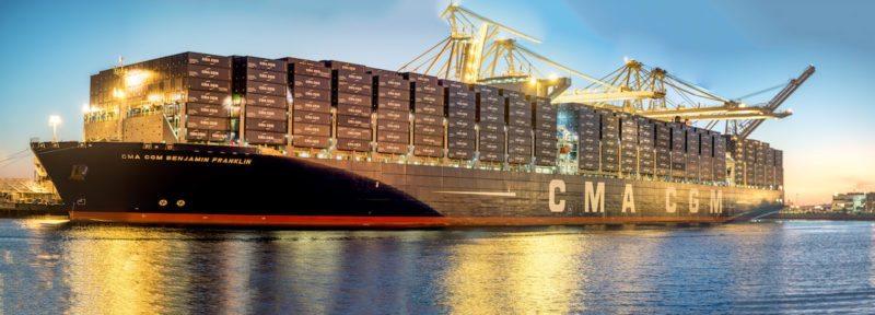 Navire porte-conteneurs ultra grand