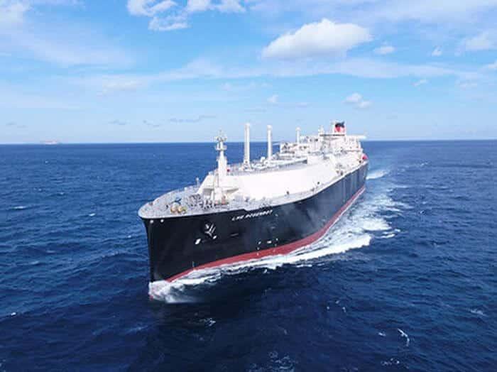 Méthanier LNG Rosenrot