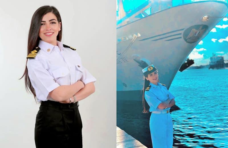 Première capitaine de navire Égypte