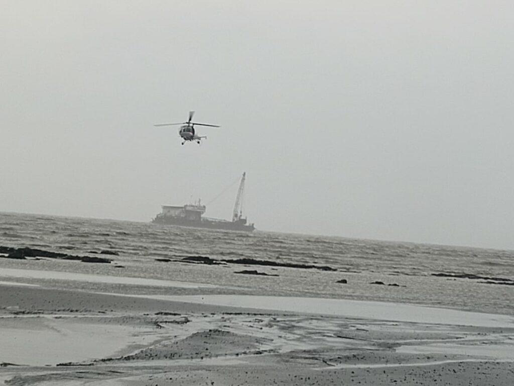 Barge Gal Constructor;  Source: Garde côtière indienne