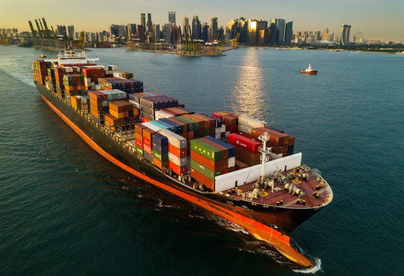 représentation du navire singapour