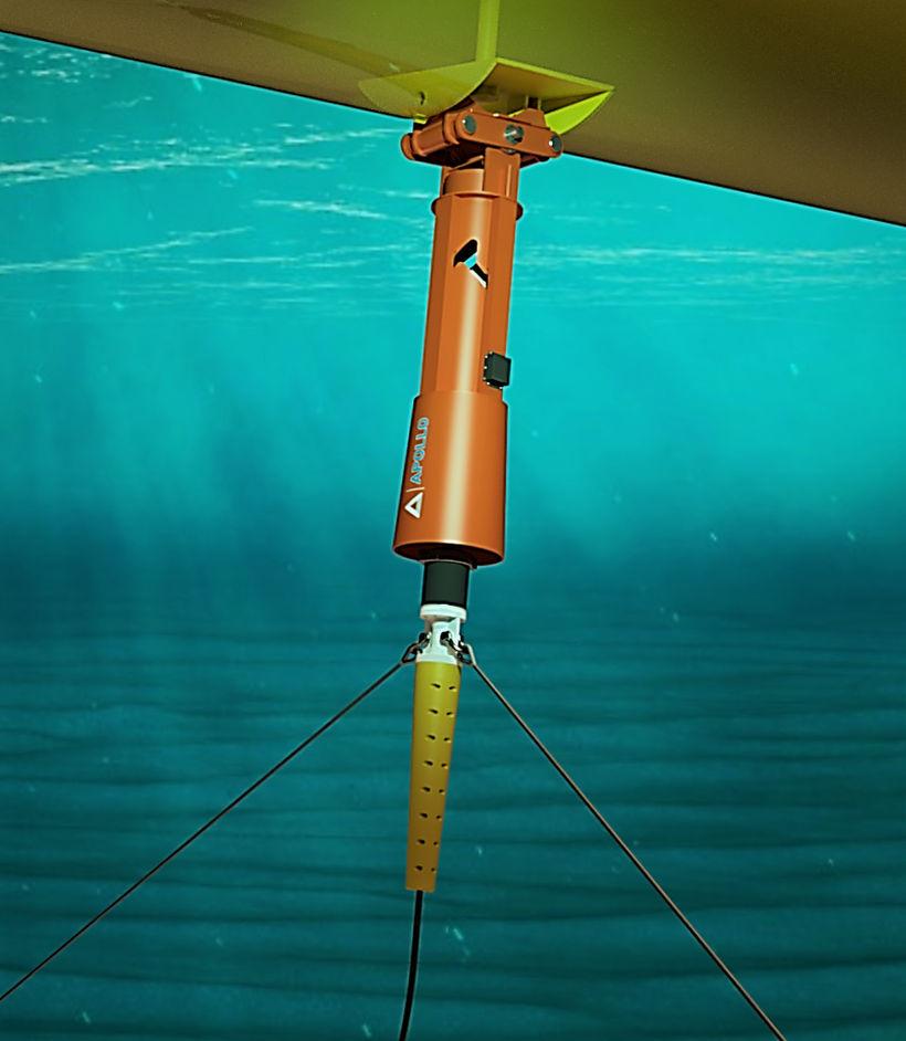 Image montrant le connecteur PALM pour les convertisseurs d'énergie houlomotrice (Avec l'aimable autorisation d'Apollo Engineering)