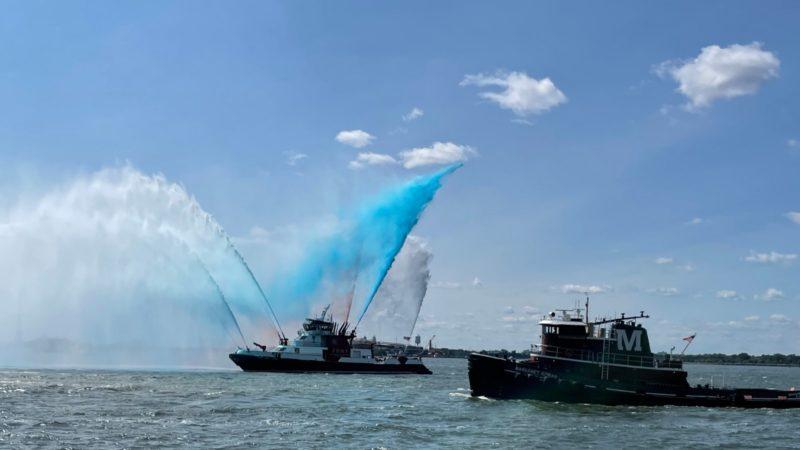 11 septembre NYC procession des navires