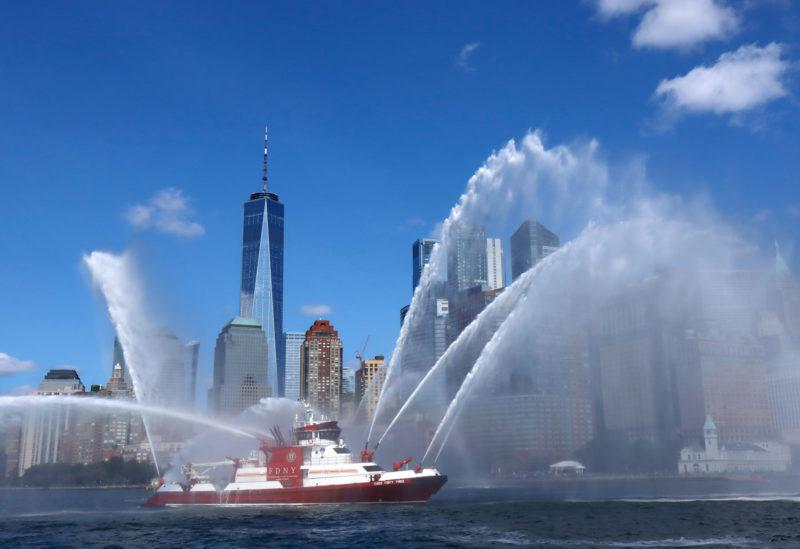 Procession des navires du 11 septembre