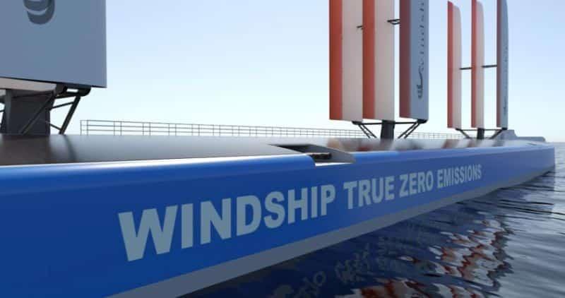 La technologie Windship sécurise l'AiP convoité pour une conception innovante à trois ailes de DNV